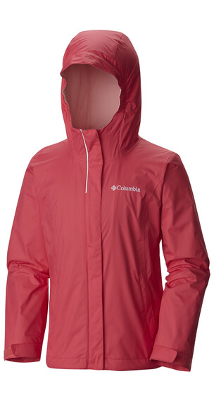 Columbia Arcadia Jacket Girls Bright Geranium
